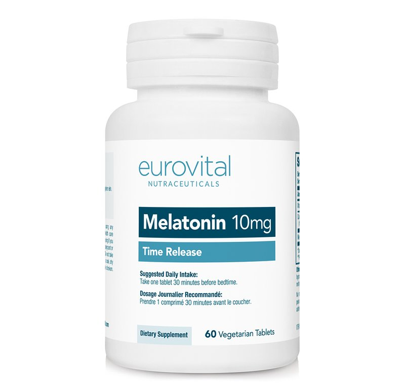 Melatonina 10 mg (Dizolvare lenta) 60 Tablete